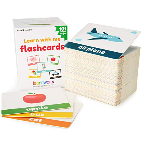 Learnworx Flash Cards for Toddlers