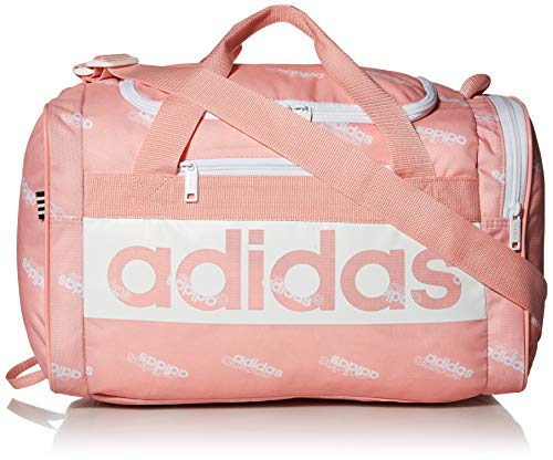 adidas Unisex Court Lite Duffel Bag, Glory Pink Core Aop/White, ONE SIZE