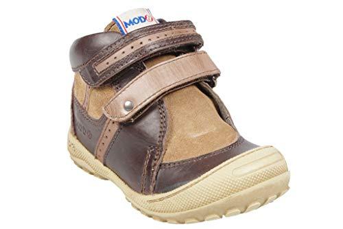 Mod8 - Boots Velcro - Gautam - Marron (23 EU)