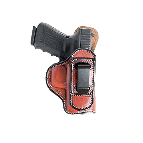 Tuckable (IWB) Leather Holster for CZ Rami 2075. Inside The Pants Holster for Tuck in Shirt Conceal Carry.
