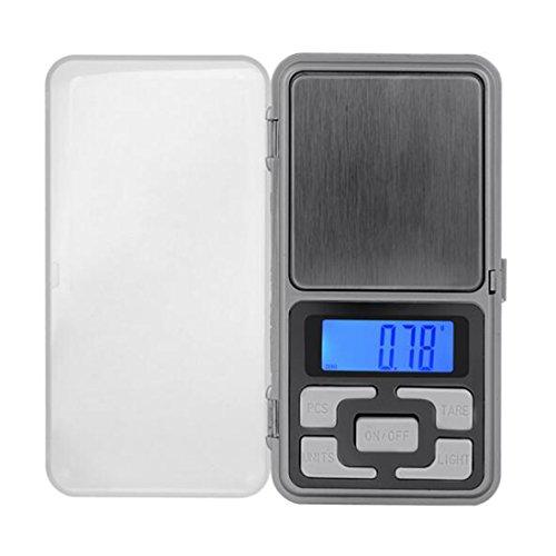 Mini balance numérique de précision 500 g/0,1 idéale pour peser les pierres, bijoux et autres objets précieux, forme de téléphone