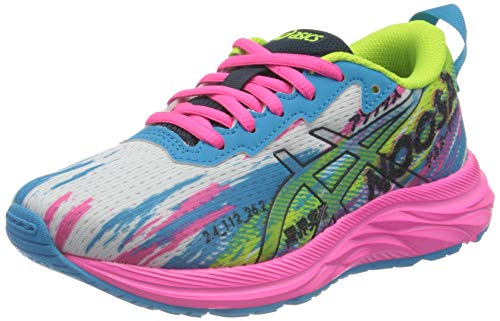 Asics Gel-Noosa Tri 13 GS, Road Running Shoe, Digital Aqua/Hot Pink, 39 EU