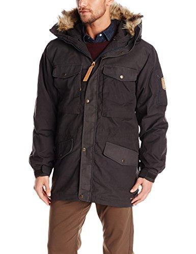 Fjallraven Men's Sarek Winter Jacket, Dark Grey, Small by Fjallraven