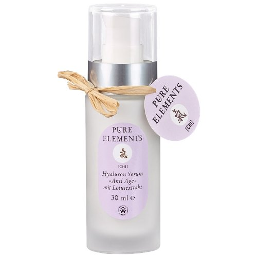 Pure Elements Naturkosmetik Chi Hyaluron Serum Anti Age mit Lotusextrakt 30 ml