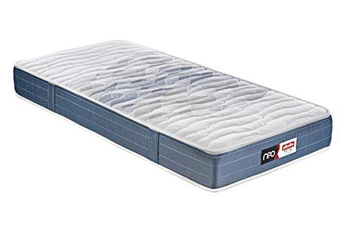 PIKOLIN – colchón CICLÓN |Gama Neo| (Muelle ensacado + Viscoelástica/Pocketed Spring + Viscolastic Mattress) 90x190 cm