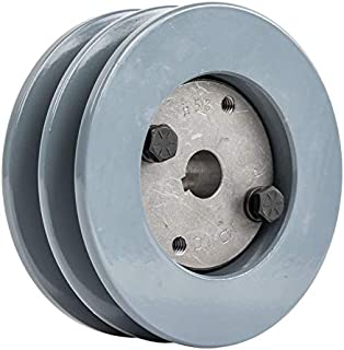 x 1-5//8 in Browning BK-57-H Pulley SHEAVE BK-57-H 5.45 in O.D shaft.