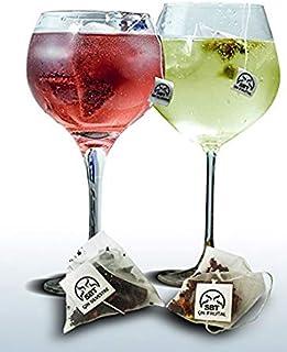 SABOREATE Y CAFE THE FLAVOUR SHOP Botánicos Frutales y Silvestres para Gin Tonic Especias Para Cócteles. Aromatizante natural para la ginebra y licores Blancos - 24 unidades