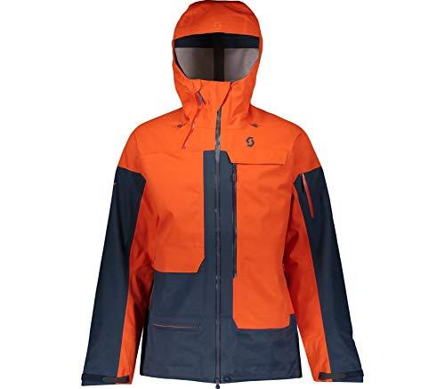 Scott Herren Skijacke Vertic 3L Tangerine orange/Nightfall Blue L