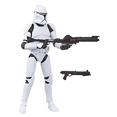 Hasbro Star Wars The Vintage Collection-Clone Trooper (Action Figure 9,5 cm Ispirato a Star Wars: L'Attacco dei cloni), E9333ES0