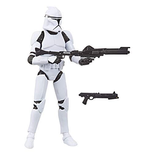 Hasbro Star Wars The Vintage Collection-Clone Trooper (Action Figure 9,5 cm Ispirato a Star Wars: L'Attacco dei cloni), E9333ES0
