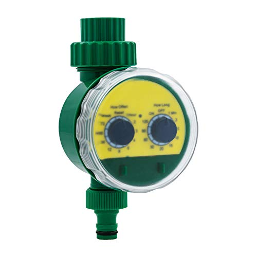 Mcbazel Garden Intelligent Automatic Water Timer Irrigation Electronic Digital Controller Watering System