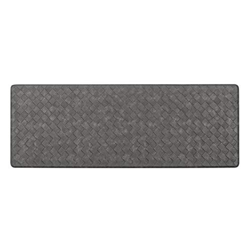 HEBE Kitchen Mat Cushioned Anti Fatigue Floor Mat Waterproof Non-Slip Comfort Standing Mat Ergonomic Kitchen Floor Mat Rug Runner for Office,Sink,Laundry,Desk,17'x48'