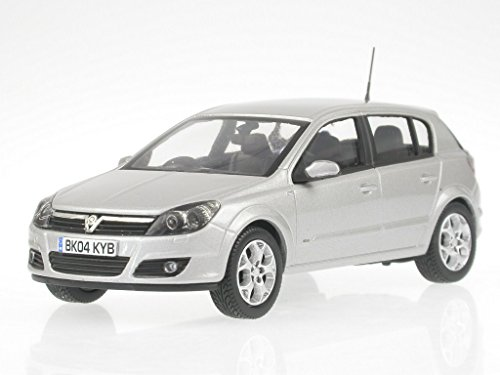 Opel Astra H Vauxhall silber Modellauto Vanguards 1:43