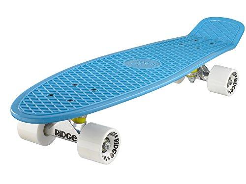Ridge Retro 27 Skateboard, Unisex, Azul Negro, 69 cm