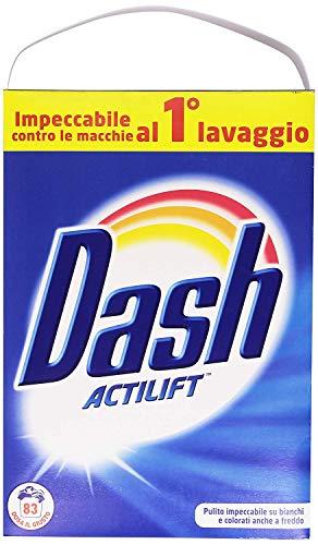 DASH Actilift Detersivo in Polvere per bucato in Lavatrice e a Mano 2 Confezioni 166 lavaggi