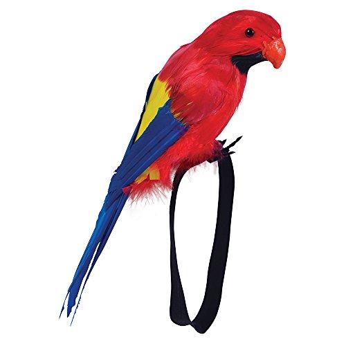 Bristol Novelty BA351 Papagei Accessoire auf Armband, unisex-adult, Mehrfarbig, Einheitsgröße
