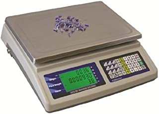 Fairbanks Scales  31784 Omega Counting Scale, 6 lbs x 0.0002 lbs (3 kg x 0.1 g)