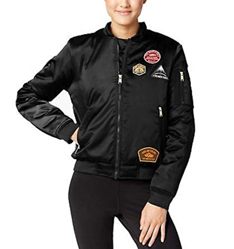 The North Face Women's Insulated Barstol Bomber Urban Explore Jacket (Black Patch, Large)