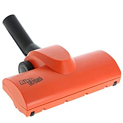 First4Spares compatible Numatic vacuum cleaner turbo floor tool High performance suction turbo tool Powered by the suction of the vacuum cleaner It is suitable for all the 32mm diameter pipes found on the Henry, Hetty, James, Charles, and George Etc ...
