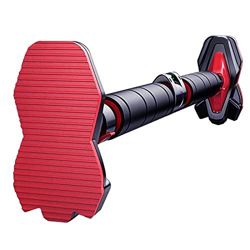 Barra de tracción Barra horizontal portátil para ejercicios, barra de tracción sin perforaciones, ajustable de 70-160 cm, para bastones de entrenamiento de fuerza en el hogar para hombres y mujeres, c