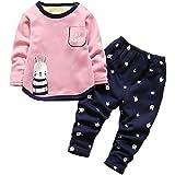 ARAUS Baby Thermo-Unterwäsche Kleidungset Winter Schlafanzug Overall Unisex 0.5-4 Jahre D 2-3 Jahre