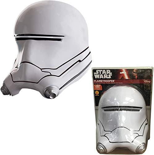 Star Wars : flametrooper Masque Moulée Pour Adulte 2 Pièces - Accessoire Costume