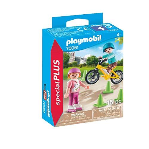 Playmobil Special Plus 70061 - Bambini con Pattini e BMX, dai 4 anni