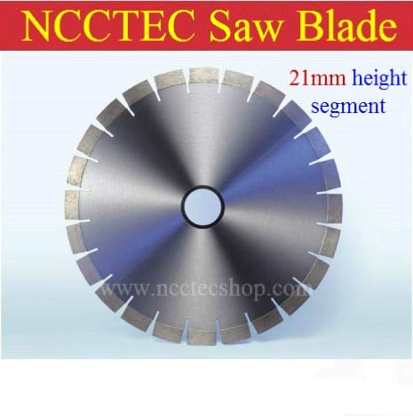 Fantastic Deal! Xucus [21mm height segment] 16'' TOP quality diamond saw blade | 400mm concrete ceme...