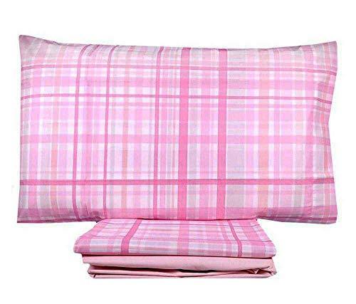 Juego de sábanas para cama individual de 1 plaza, diseño de flor de melocotón