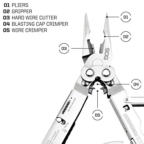 SOG PowerAssist Multi-Tool (S66N-CP)