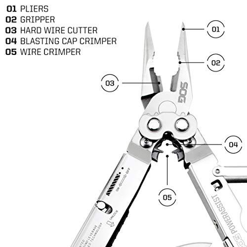 SOG PowerAssist Multi-Tool (S66N-CP)