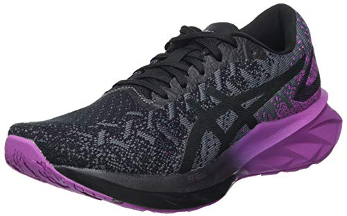ASICS Dynablast, Zapatillas Mujer, Black/Digital Grape, 40 EU
