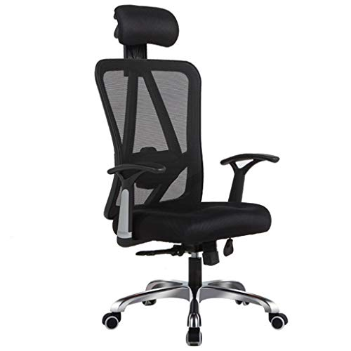 XYF Ergonomic seat gaming chair black, Executive Computer swivel chair, height adjustable, Mid-Back Task Mesh Chair, with Adjustable Headrest Easy to install, can support 330 pounds