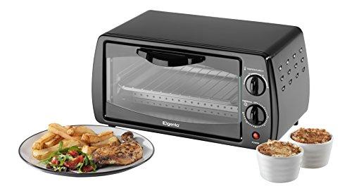 Elgento E14025 Compact Mini Oven, 9 Litre, Black