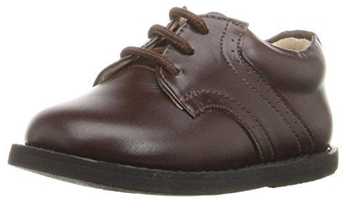 Elephantito Boys' Golfers-K Oxford, Brown, 8 M US Toddler