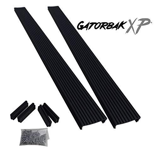 "Gatorbak Synthetic Bunk Cover for 2x6 Bunks - Black - 1.50"" H x 5.50"" W x 5' L"