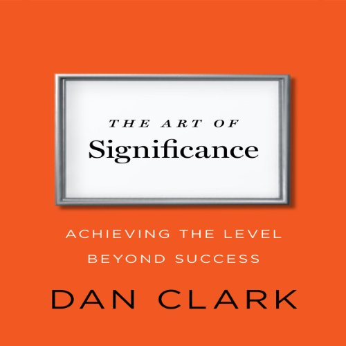 The Art of Significance audiobook cover art