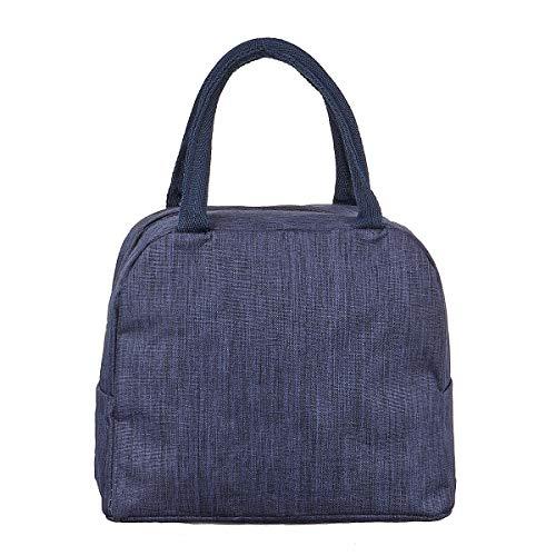 CPAP Sanitizing Cleaner Storage Bag Aluminum Foil Liner Disinfector Respirator Bag Durable 1114 (Color : Navy blue)