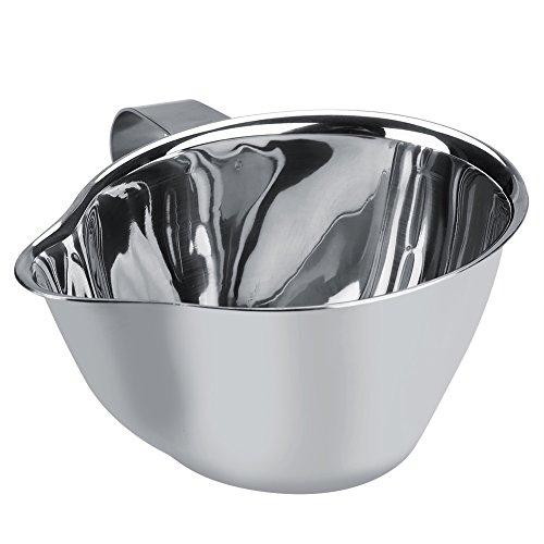 Öl Fettabscheider Edelstahl Öl Suppe Sieb Tasse mit Griff Mehrzweck Verwendung Fett Ölfilter Sieb