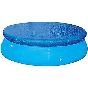 Miouldram Cubierta de piscina fácil de configurar, antipolvo, protección contra la lluvia, piscina duradera sobre tela