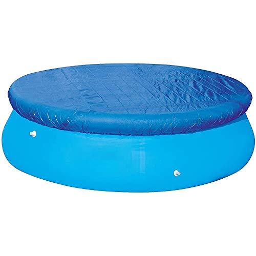 MOSINITTY - Funda para piscina, redonda, inflable, fácil de instalar, antipolvo, evita la evaporación, resistente a la lluvia, 183 cm, 244 cm.