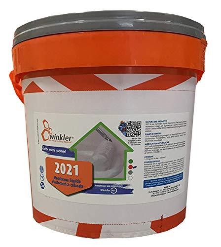 2021 Guaina liquida colorata impermeabilizzante kg. 5 (Rosso)