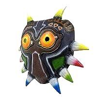 ハロウィーンザルダのゼルダの息切れの野生のマスクプロム面白いパーティーカーニバル光学メッツララテックスマスク,A