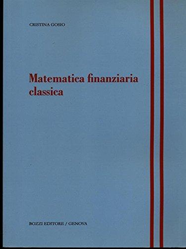 Matematica finanziaria classica