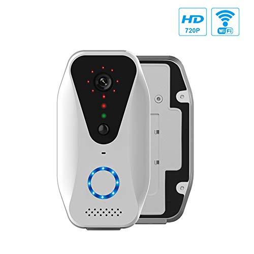 GWX WiFi video deurbel, stem intercom videobewaking op afstand, anti-diefstal deurbel ondersteuning monitor en alarmfuncties