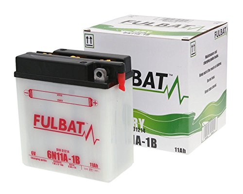Fulbat - Motorrad Batterie 6N11A-1B 6V 11Ah - Akku(s)