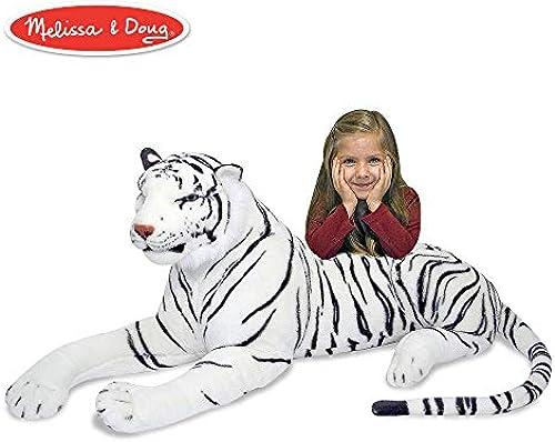 Melissa & Doug Weiß Tiger - Plush (Plüsch-Weißhe Spielzeuge)
