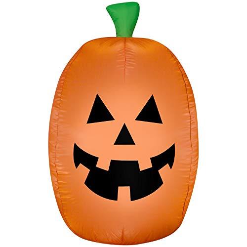 Halloween Inflatable 4' LED Pumpkin Airblown Decoration