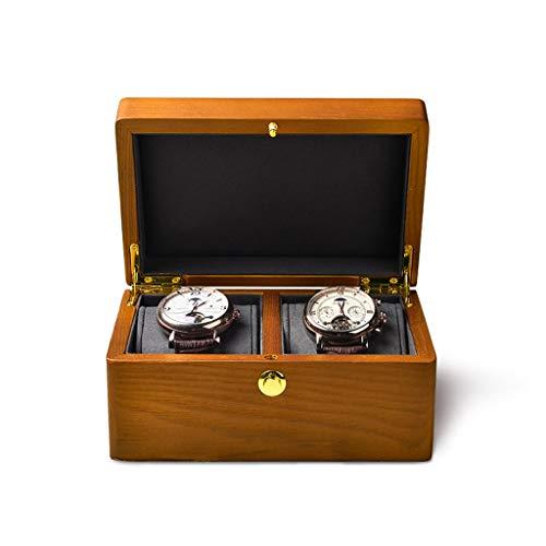 KHUY Caja Relojes, Herramienta Relojero Premium Watch Holder Estuche para Relojes Hombres, Estuche Relojes Mujer Viaje Cajas de Reloj Muestra de Muestra, Regalos para Hombre (Color : A)