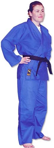 Hayashi Blue Single Weave shop Uniform Seattle Mall Jujitsu Judo Gi